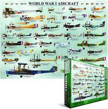 Mundo Guerra 1 Avión 1000 Piezas Puzle Rompecabezas 490mm x 680mm ( Pz )