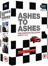 Ashes To Ashes Seasons 1-3 Complete Series 1 2 3 Collection 12 DVD BoxSet UK R2