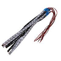 10 x impermeable 15 LED 3528 barra de luz de tira SMD 30 cm DC 12V Azul W4C2