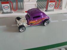 Hot Wheels'33 Ford Hotrod púrpura HOTWHEELS.COM Suelto VER FOTO