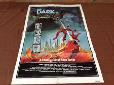 1979 The Dark Original Movie House Full Sheet Poster