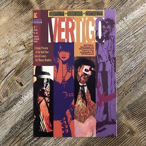 VERTIGO PREVIEW #1 (DC/Vertigo, 1991) | Exclusive SANDMAN story, VF+, No Reserve