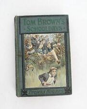 Tom Brown's School Days By Thomas Hughes Eight Colored Illustrations 1904