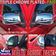 2005 06 07 08 09 10 2011 Toyota Tacoma Chrome Mirror COVERS Overlays Trims Caps