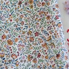 Tissu de coton imprimé Beaucaire Indienne verdoyant