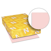 Neenah Paper Exact Vellum Bristol Cover Stock 67 lbs. 8-1/2 x 11 Pink 250 Sheets