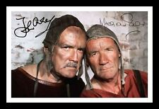 MONTY PYTHON - CLEESE & PALIN AUTOGRAPHED SIGNED & FRAMED PP POSTER PHOTO