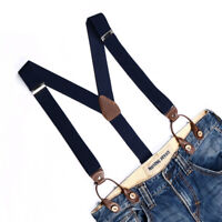 Mens Suspenders 6 Button Brace Strap Classic Elegant Adjustable Belt Suspender