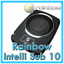 Rainbow intelli sub 10 AFE flachsubwoofer aktivsubwoofer sotto sedile 25cm attivo