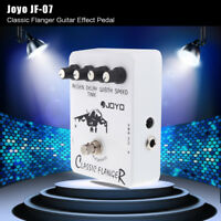 Joyo JF-07 Classic Flanger Guitar Effect Pedal with True Bypass New A8E5