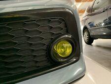 YELLOW Fog Light Tint Pre-Cut Overlay for 2016 - 2019 Honda Civic Hatchback