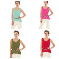 NEW- Oh My Gauze! Multiple Colors, Tank in Sizes 2 & 3 100% Cotton
