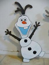 DISNEY'S FROZEN MOVIE HAND MADE OLAF SNOWMAN CHRISTMAS YARD ART