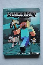 🔴Minecraft Steelbook Edition [Xbox One] ★ABSOLUT WIE NEU !★! EXTREM SELTEN !★🔴