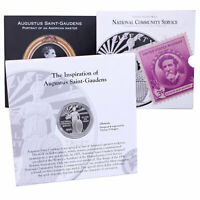1996 S National Community Service Proof 90% Silver Dollar OGP US Coin & Stamp