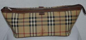 Burberry Tasche Kosmetiktasche Haymarket Check UNISEX
