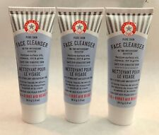 Lot of 3 First Aid Beauty Face Cleanser With Fab Antioxidant Booster 3 x 1 oz