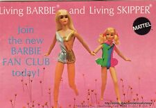 1970 Barbie and Skipper Booklet - Free Shipping