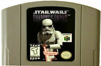 Star Wars Shadows of the Empire - Nintendo N64 Game Authentic