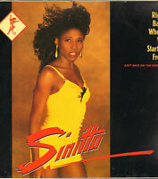 """SINITTA - Right Back Where We Started From     12"""" Maxi Single    VG++"""