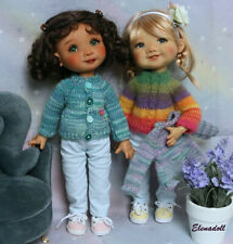PDF Knitting pattern for Dumpling My Meadow dolls n°1:versatile sweater