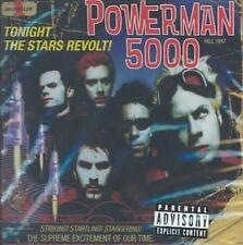 Tonight the Stars Revolt! [PA] by Powerman 5000 (CD, Jul-1999, Dreamworks SKG)