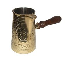 METAL BRASS TURKISH KETTLE FOR MAKING TEA,COFFEE,TURKISH COFFEE POT