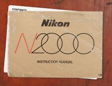 N2000 INSTRUCTION MANUAL/131556