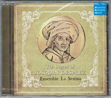 THE LEGEND OF JOSQUIN DESPREZ  Adriano Giardina Orlando di Lasso Des Prez DHM CD
