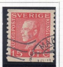 Sweden 1921-38 Early Issue Fine Used 15ore. 026716
