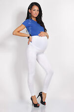 Maternity Leggings Very Comfortable Full Ankle Length Leggings Size 8 - 22