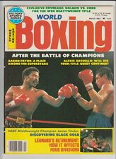 WORLD BOXING MAGAZINE AARON PRYOR-ALEXIS ARGUELLO BOXING HOFers MARCH 1983