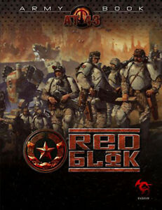 AT 43 Red Blok Army Book - NEW!