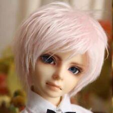 """SD 8~9"""" hair Super Dollfie 1/3 pink Fur Wig AOD DOD DK AF DZ Luts MK Volks BJD"""