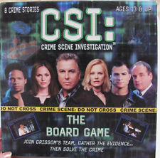 CSI Crime Scene Investigation Board Game Join Grissom's Team, Gather Evidence