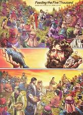 Jigsaw puzzle Biblical Feeding the 5000 Five Thousand 1000 piece NEW Made in USA