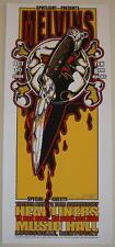 2004 The Melvins - Louisville Silkscreen Concert Poster s/n by Jeral Tidwell