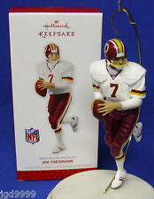 Hallmark Nfl Football Ornament Joe Theismann 2013 Washington Redskins Nib