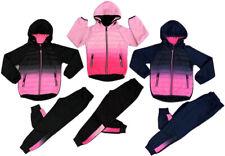 Kinder Mädchen Jogginganzug Trainingsanzug Sportanzug  Jacke Hose Kombi Set