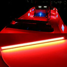 "6.7"" Red Ship Boat RV Marine Grade Large 12 Volt LED Courtesy Lights x2"
