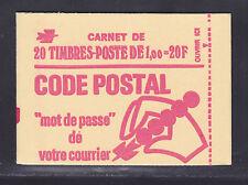 FRANCE CARNET 1892-C3a ** MNH carnet fermé, conf. N° 6, TB, cote: 50 € (L2)