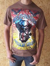 Harley Davidson Herren T-Shirt Gr. XL kurzarm Braun Neu und ungetragen Shirt