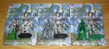 Brigid the Protector 3 figure set pewter emerald limited more than mortal