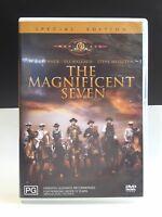 Magnificent Seven DVD Yul Brynner Steve McQueen - FREE POSTAGE AUSTRALIA