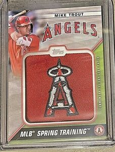 2021 Topps Series One - Spring Training Cap Logo - Mike Trout - #STCL-MT *7771