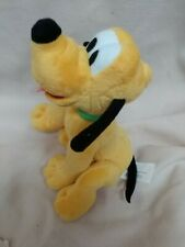 Walt Disney World Pluto Mickey Mouse Dog Plush Stuffed Toy, 9 inches