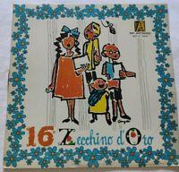 16° ZECCHINO D'ORO LP VARIOUS 33 GIRI VINYL ITALY 1974 ANTONIANO RDZ 14234 EX/EX