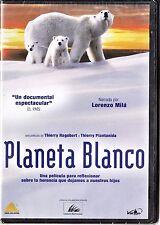 PLANETA BLANCO (película canadiense documental). DVD edición de diario.