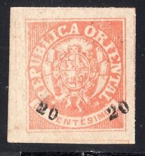 Uruguay classic Coat of Arms #28 SUPERB GEM EXCEPTIONAL MNH WITH GUM CERTIFICATE