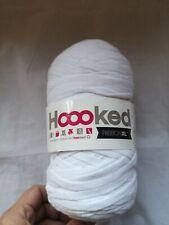 Yarn Hoooked Ribbon XL Yarn Recycled Cotton Optic White RXL 50 120m
